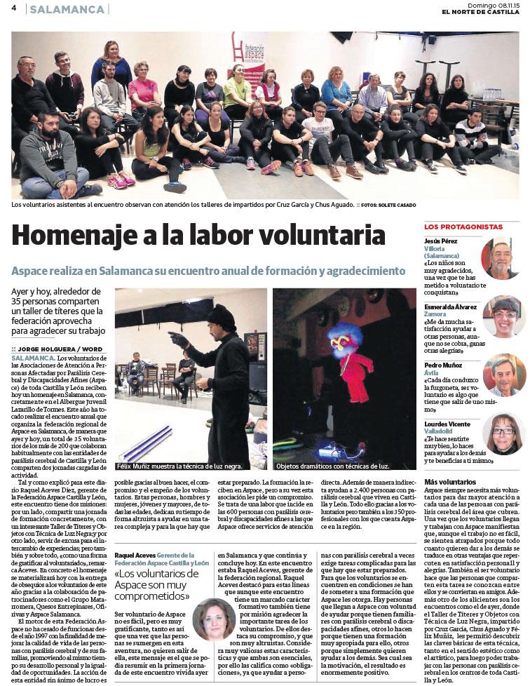 Encuentro de Voluntariado 2015 (Salamanca)