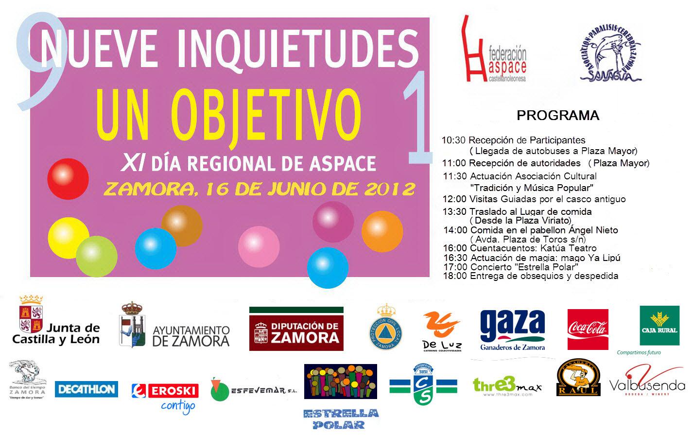 Día Regional de ASPACE 2012