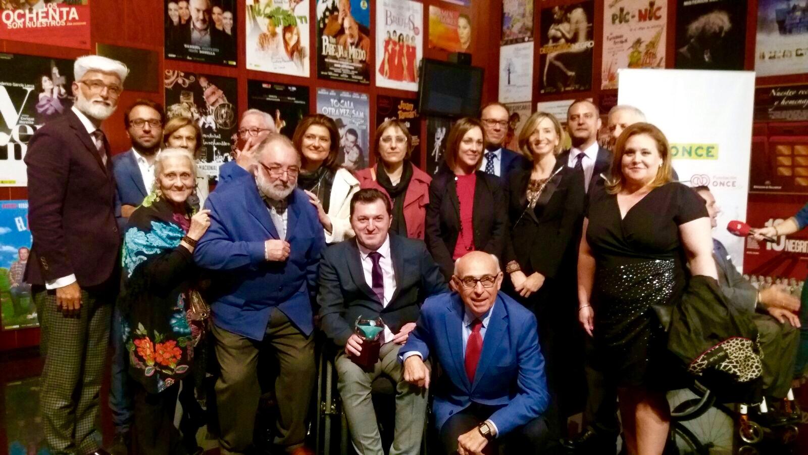 El Presidente del Cermi CyL galardonado con los premios ONCE Castilla y León