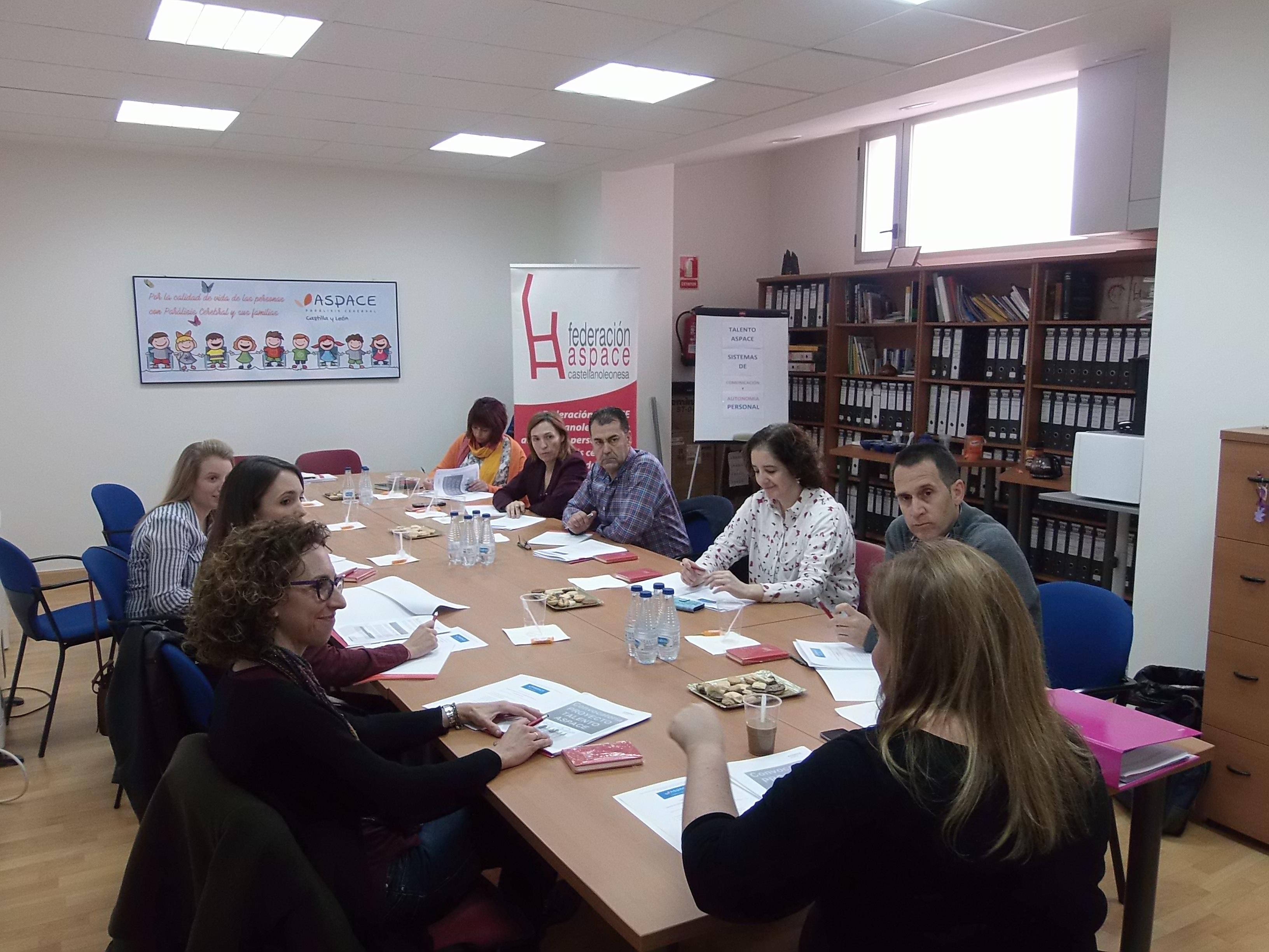 Primera reunión de expertos en materia de Comunicación  y Autonomía Personal den Parálisis Cerebral en Castilla y León