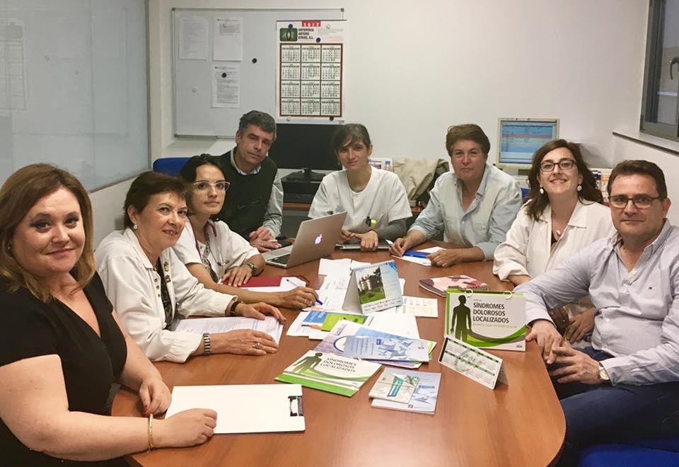 Reunión con el Hospital Clínico Universitario