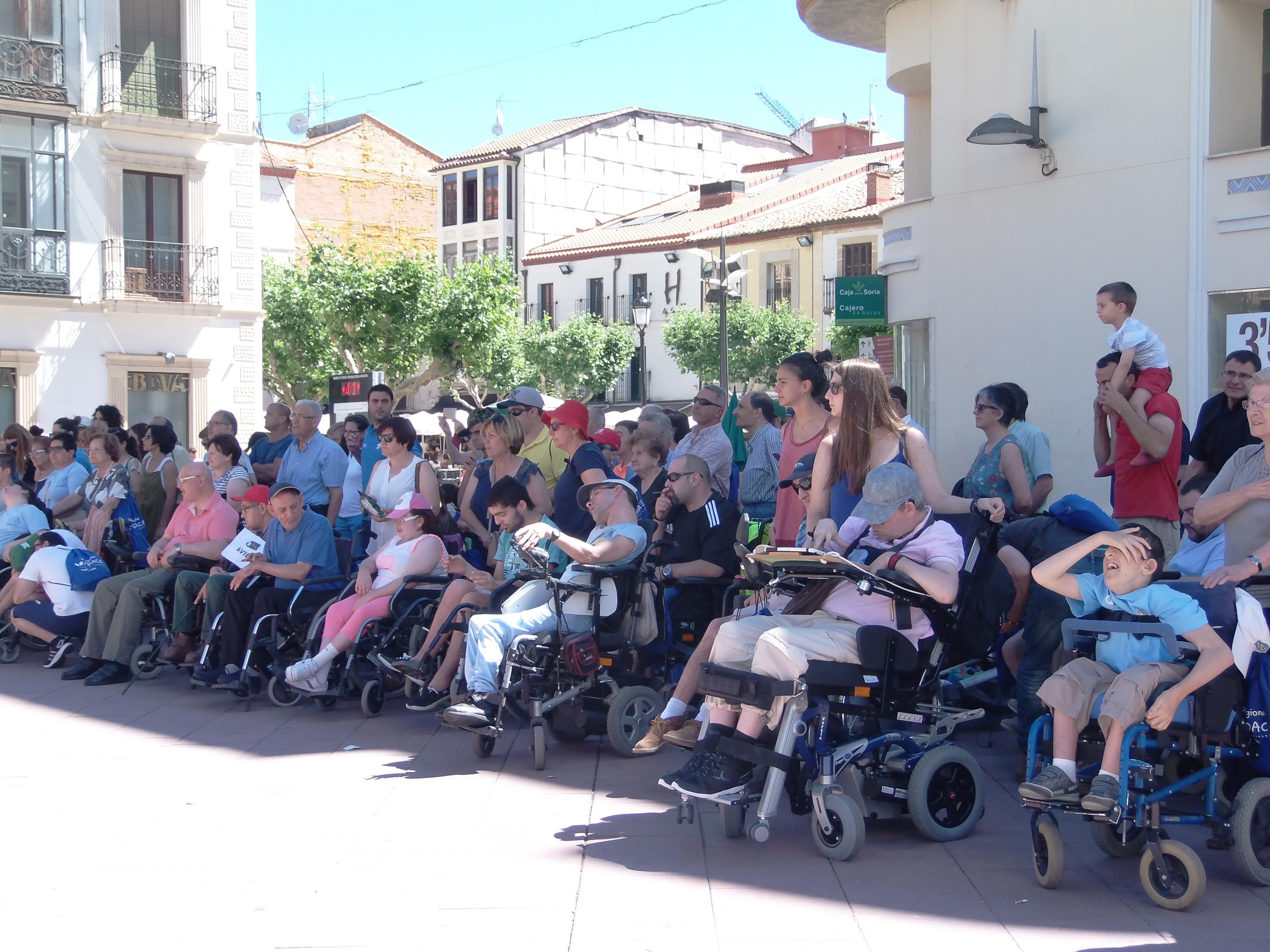Actos de celebración del XVI Dia Regional de la Parálisis Cerebral en Castilla y León