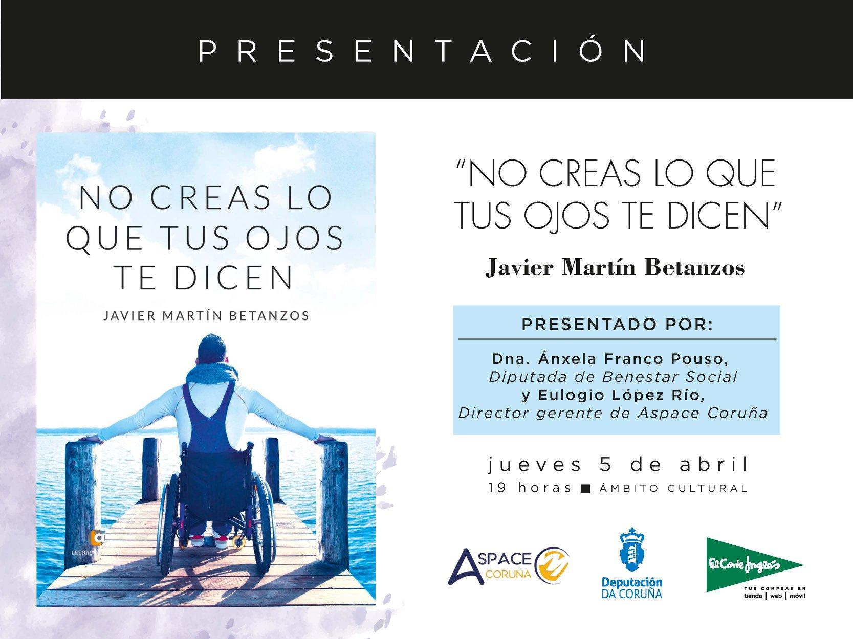 Presentación de No creas lo que tus ojos de dicen en el Cortes Inglés de A Coruña