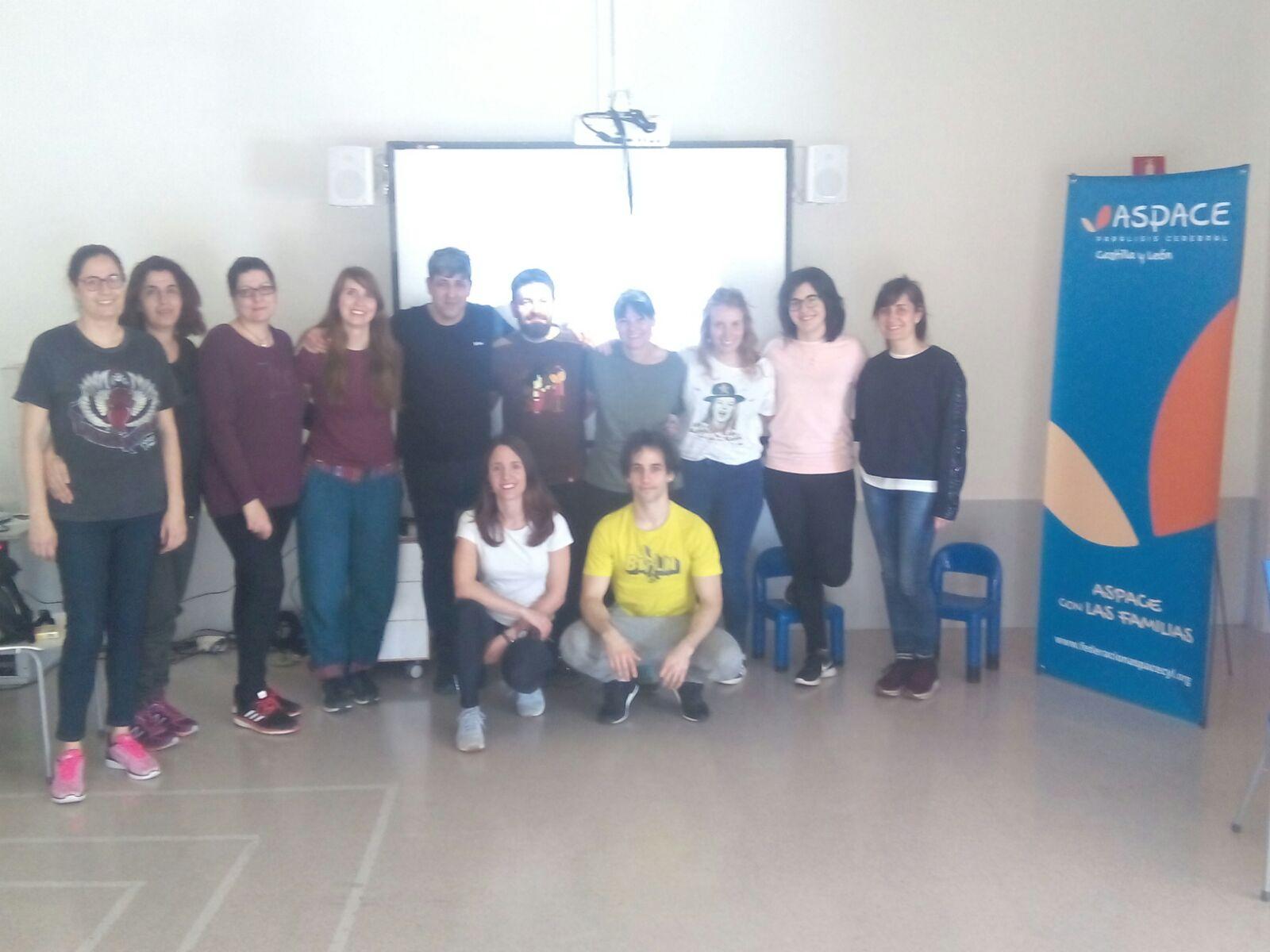 """ASPACE Castilla y León forma en el """"Acompañamiento de la Estimulación Basal""""."""