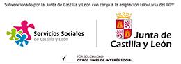 Logo Servicios Sociales y Junta CyL