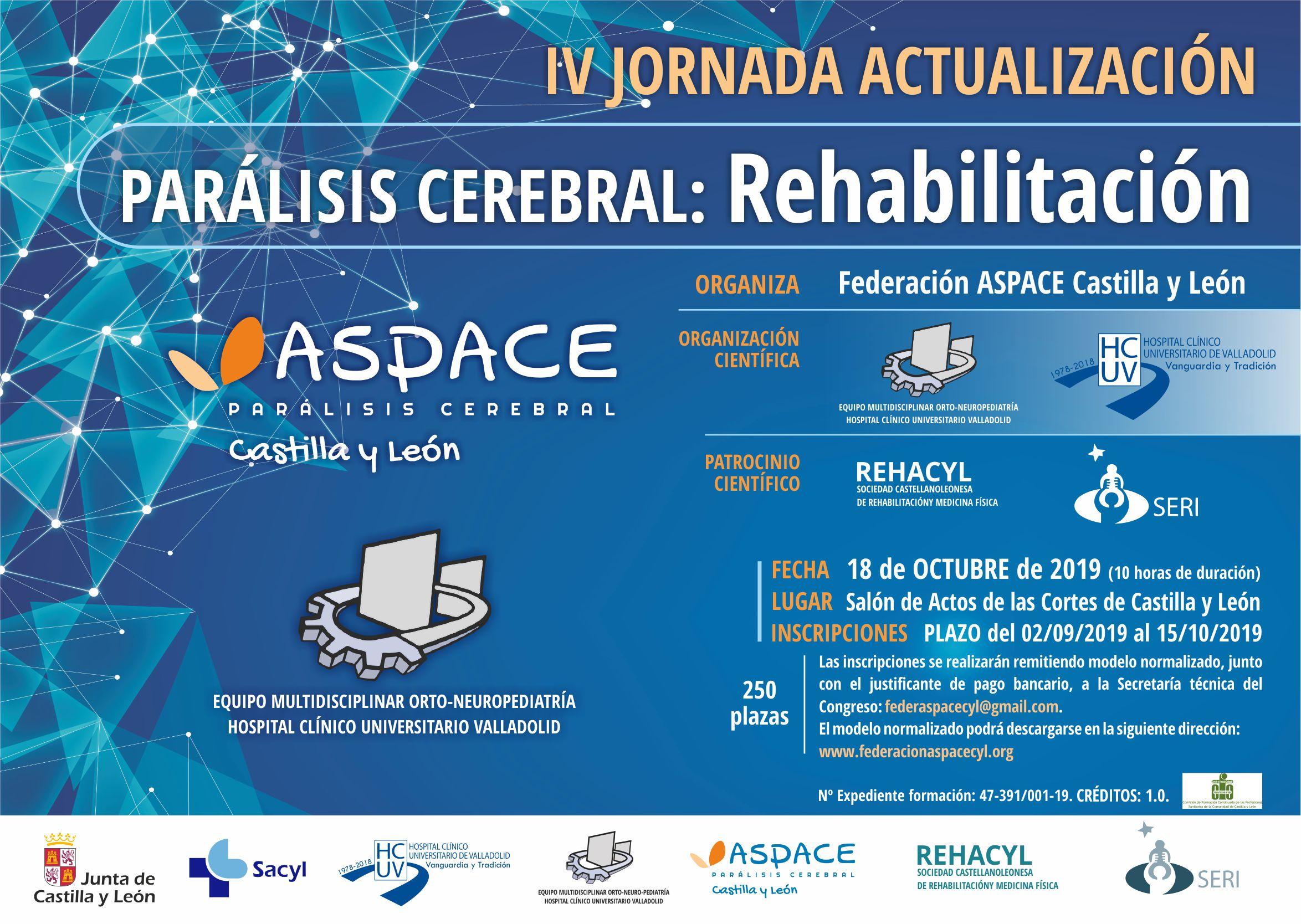 IV Jornada Actualización Parálisis Cerebral. Rehabilitación