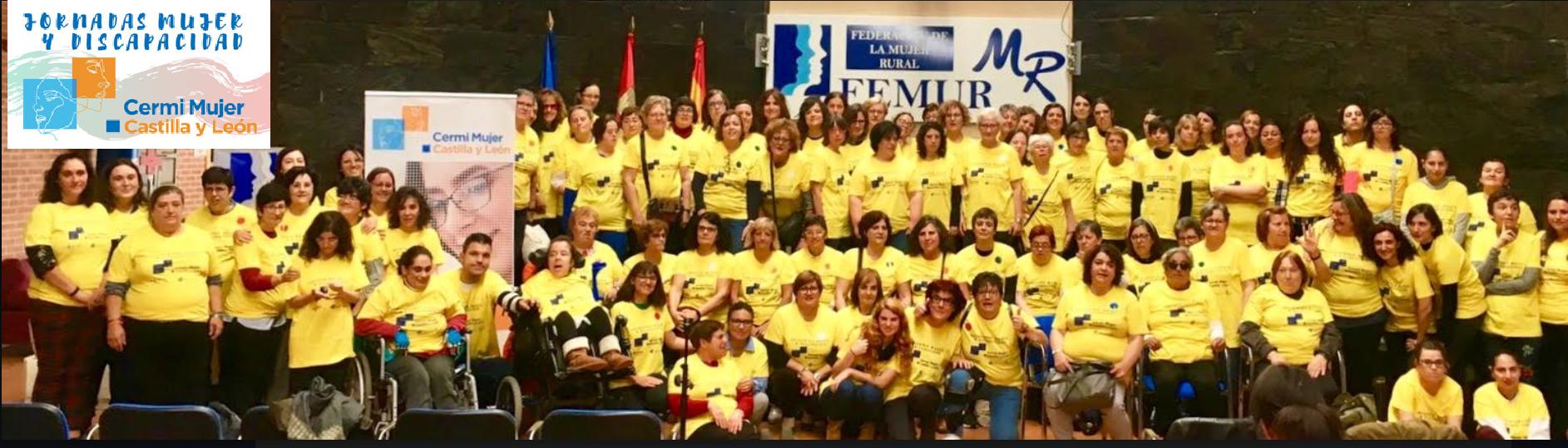 Primer Encuentro Mujer y Discapacidad Cermi CyL. Hontalbilla