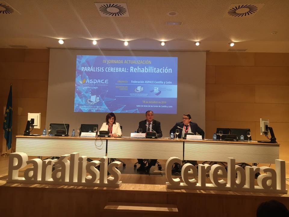 Éxito de participación en la IV Jornada Actualización Parálisis Cerebral. Rehabilitación