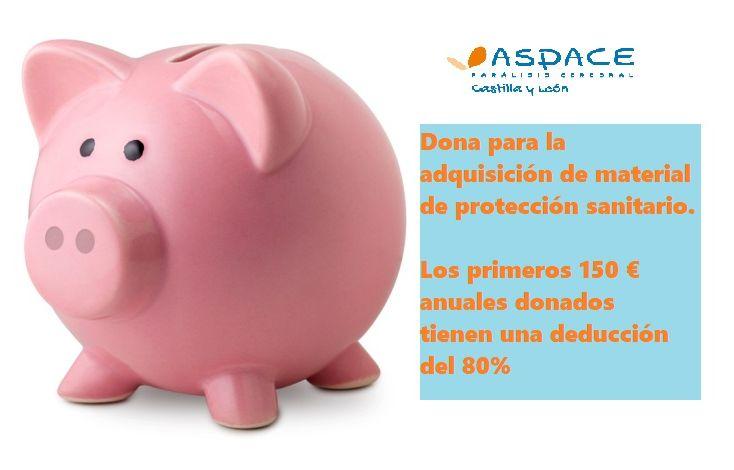 Aspace Castilla y León pone en marcha un campaña para recaudar fondos y material de protección para todas las entidades ASPACE