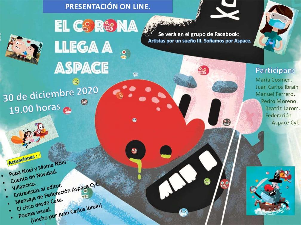 """GALA PRESENTACIÓN """"EL CORONA LLEGA A ASPACE"""" Día 30 de diciembre a las 19:00 horas"""